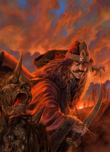 """Cover per """"Vlad Tepes"""" - La leggendaria vita di Dracula"""" edito da Alius Editrice"""