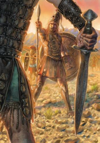 """Achille- illustrazione """"Mitologika:  Le leggende dell' Olimpo"""" ed. Casa Ailus"""