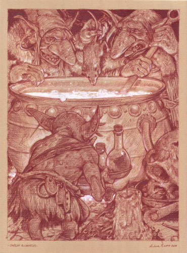 Goblin alchimisti