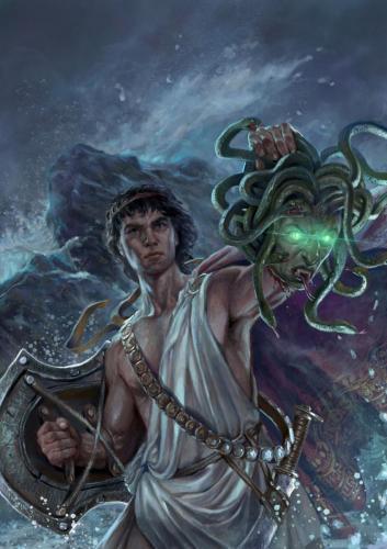 "Perseo-Cover per ""Mediterranea"" ed. Italian Sword&Sorcery"