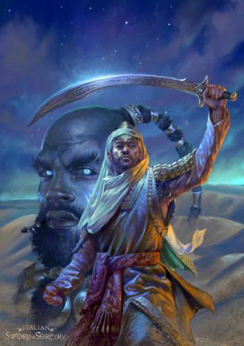 Il Crocevia dei Mondi- Cover art per Italian Sword & Sorcery
