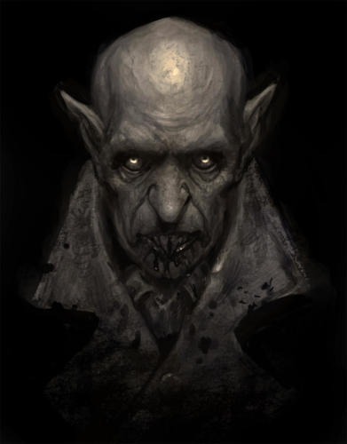 Orlok  Nosferatu-Cover art per: Tenebris Fantasy - Horror Sketchbook