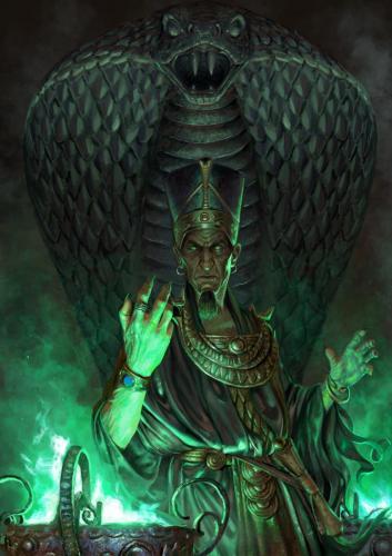"""Thoth Amon-Illustrazione per il concorso """"Thoth-Amon"""" ed. Italian Sword&Sorcery"""
