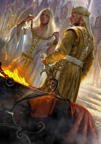 Pirin cover art per l'artbook ispirato dall'omonima saga di Sebastiano B. Brocchi