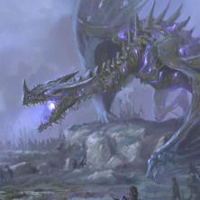 Undead dragon - illustrazione per Nightfell rpg