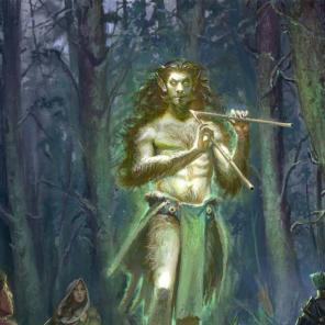Il dio Luperco - Illustrazione realizzata per Lex Arcana rpg - Editore: Quality Games