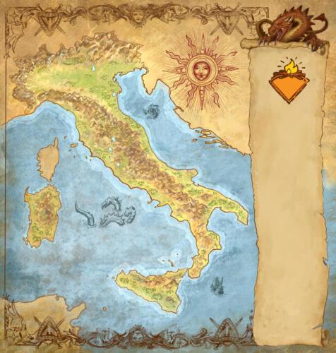 Mappa Campfire - realizzata per Lucca Changes 2020