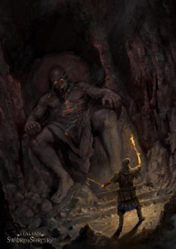 Rus di Kiev - cover art per Italian Sword & Sorcery